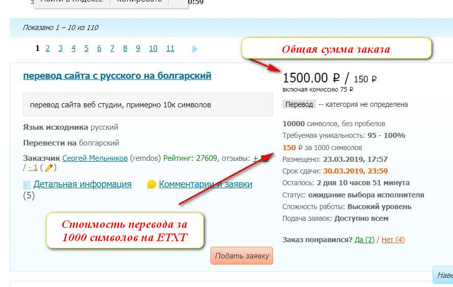 Сколько можно заработать на переводе текстов